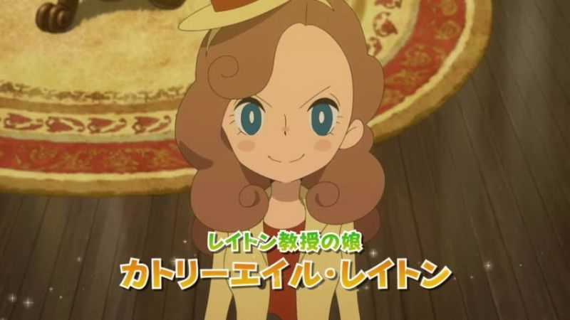"New ""Layton"" Game Revealed: Called ""Lady Layton"" - Layton's Daughter Is the New Detective"