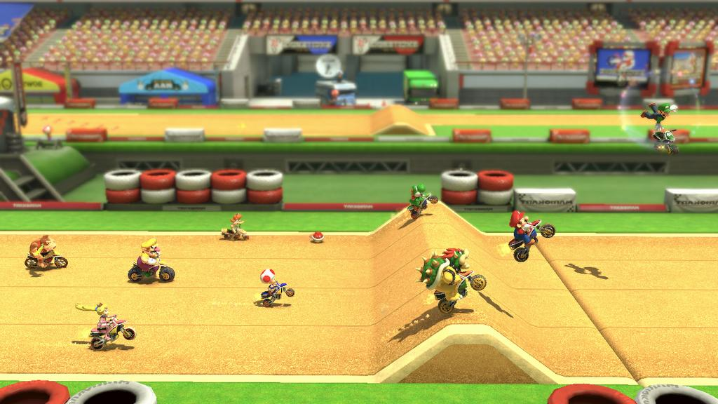 """Excitebike"" Track Heading to ""Mario Kart 8"" - Dirt Bike Rallies Galore"