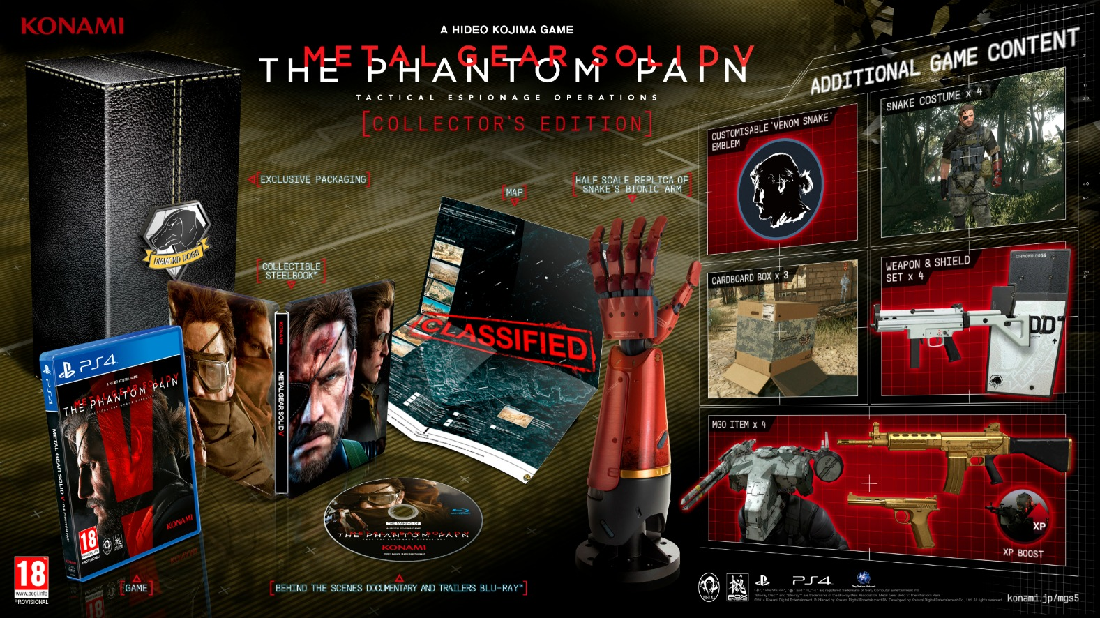"""Metal Gear Solid V"" Official Release Date and More Info Released - Day One Edition, Snake Not Speaking [Much], and More"
