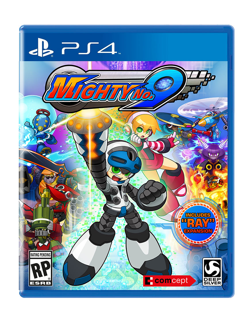 """Mighty No. 9"" Releases in September - Physical Version Comes with DLC"