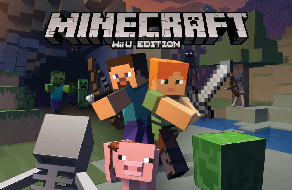 """Minecraft"" Coming to Wii U"