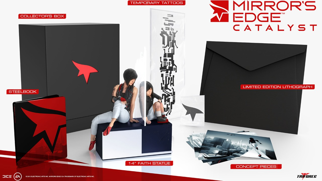 """Mirror's Edge: Catalyst"" Collector's Edition Revealed - Statue Looks Rather Impressive"