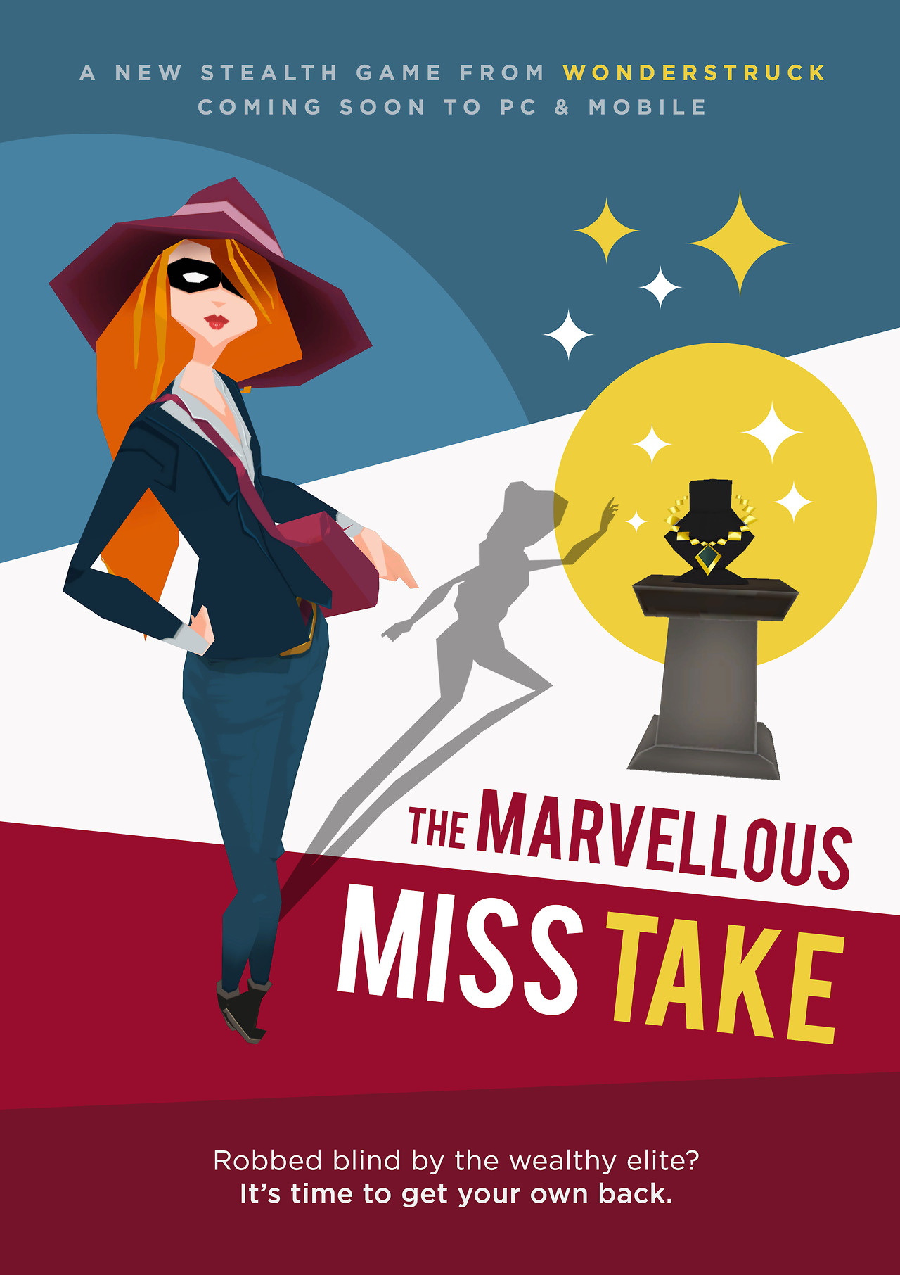 """The Marvelous Miss Take:"" First Impressions - Stealth, Steal, Enjoy"