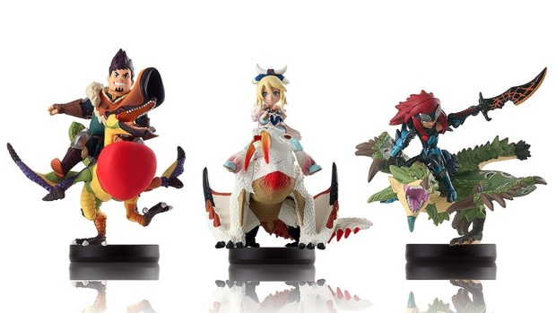 "More ""Monster Hunter"" Amiibo Revealed - More Dragons Figures to Collect"