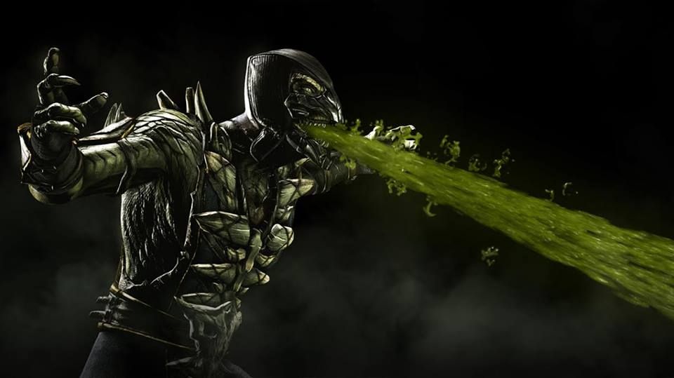 "Reptile Returns in ""Mortal Kombat X"" -"