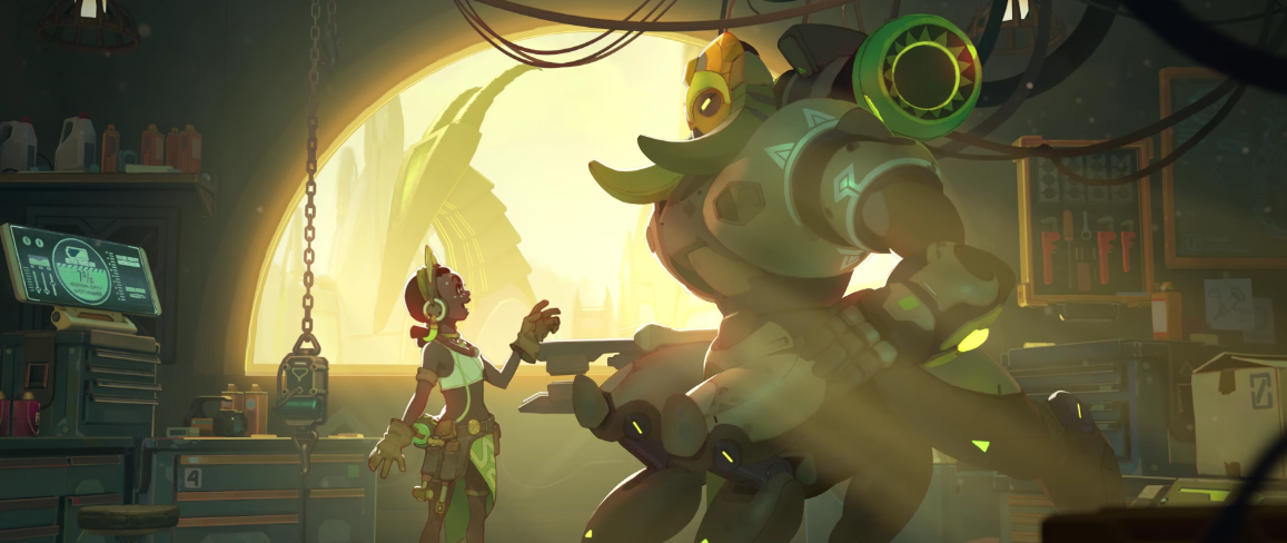 "New ""Overwatch"" Character Revealed: Orisa! -"