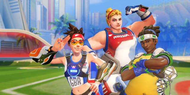 """Overwatch"" Getting Rio Olympics-Themed Items - Time to Celebrate Rio 2016"