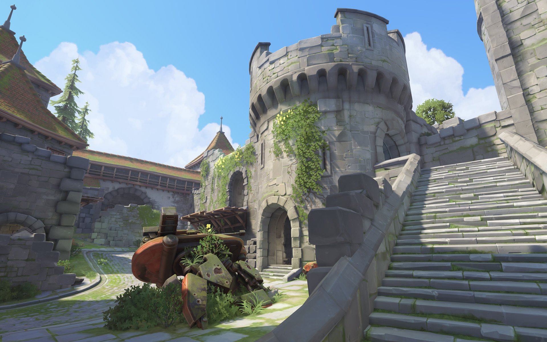 """Overwatch"" Getting New Castle Map Called ""Eichenwalde"" - Precision German Engineering"