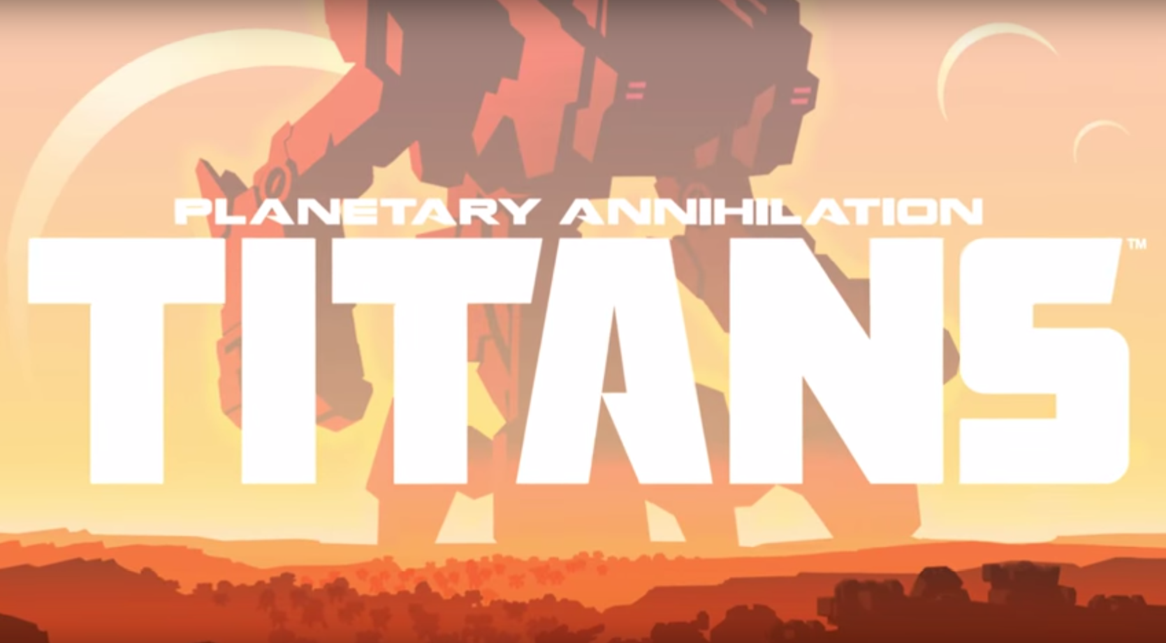"Revealed: ""Planetary Annihilation: TITANS"" - Because throwing planets at your enemies just wasn't enough."