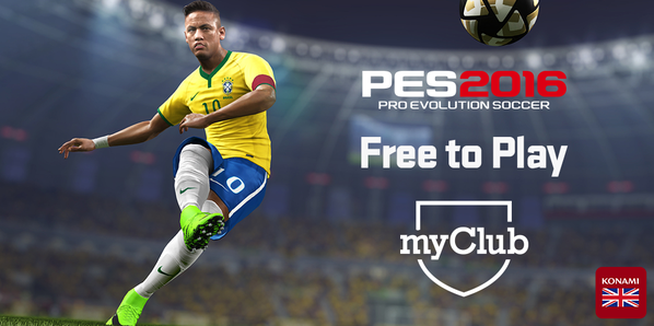 "Free-to-Play Version of ""PES 2016"" Announced - In Addition to the Full Retail Version of the Game"
