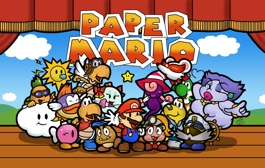 "Mario & Luigi"" and ""Paper Mario"" Team Up in ""Paper Jam"