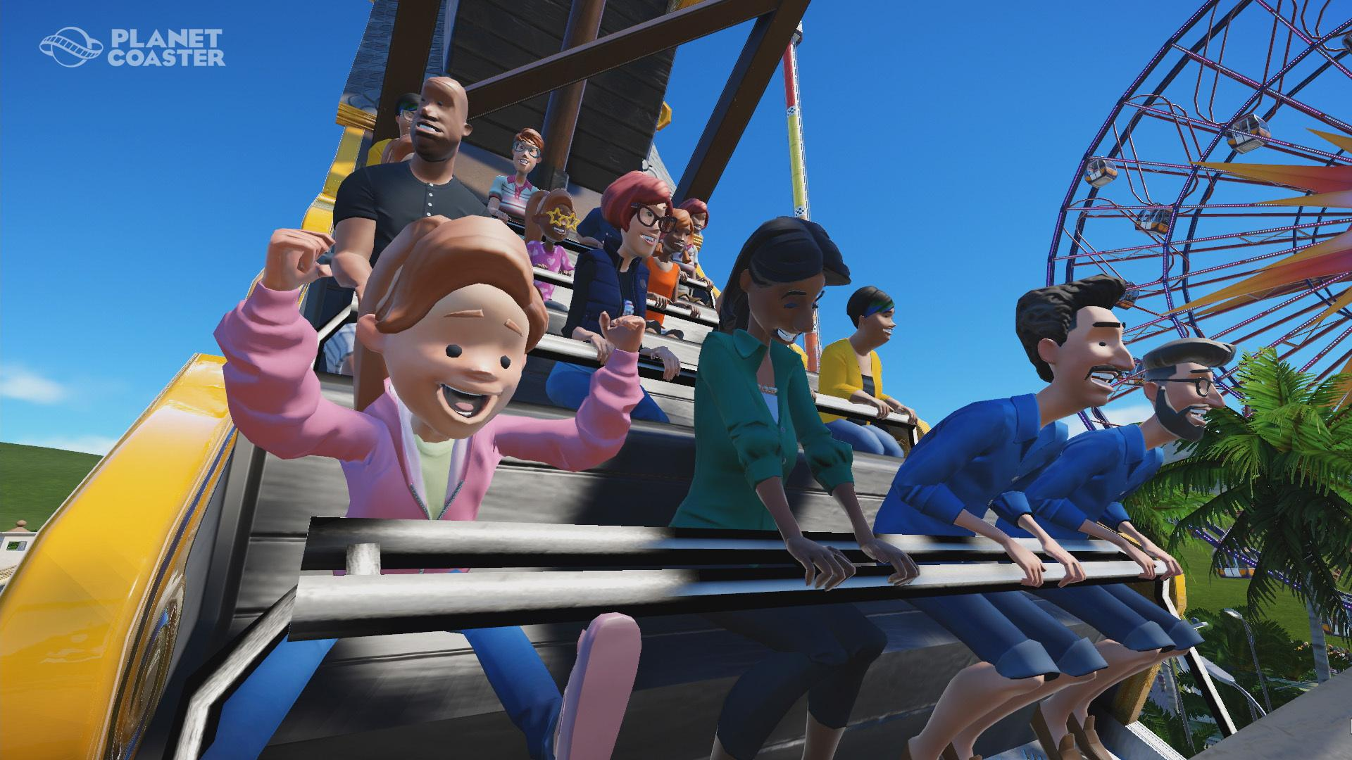 """Planet Coaster"" Gameplay Trailer Released - Wheeeeeeee!!!"