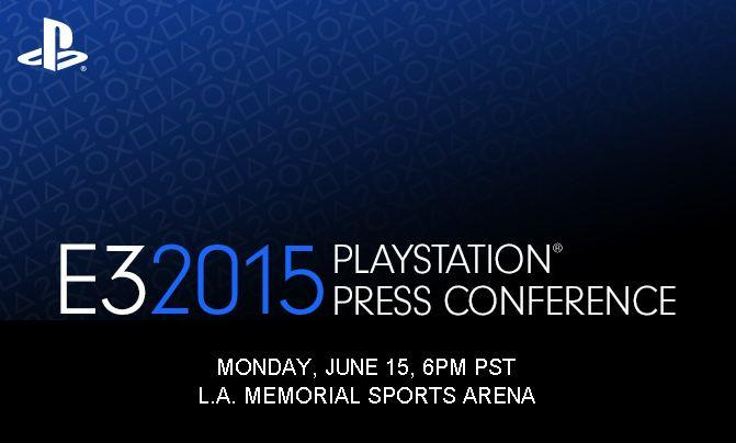 Sony's E3 2015 Conference Date Revealed - Rounding Out E3's Monday