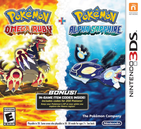 """Pokémon Omega Ruby & Alpha Sapphire"" Combo Pack Coming to Best Buy"