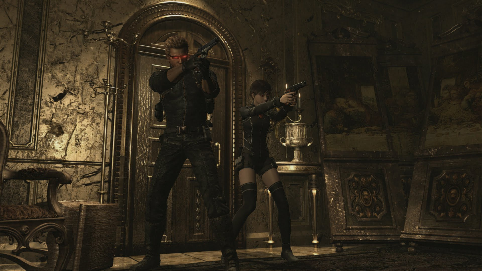 """Resident Evil Origins"" Combo Pack Announced"