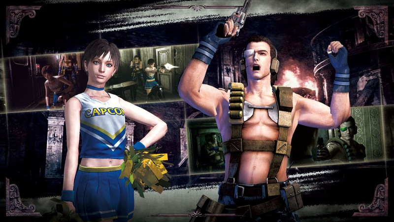 "New Costumes and Release Date for ""Resident Evil 0 HD"" - Rebecca Is Cheerleading for Capcom High"