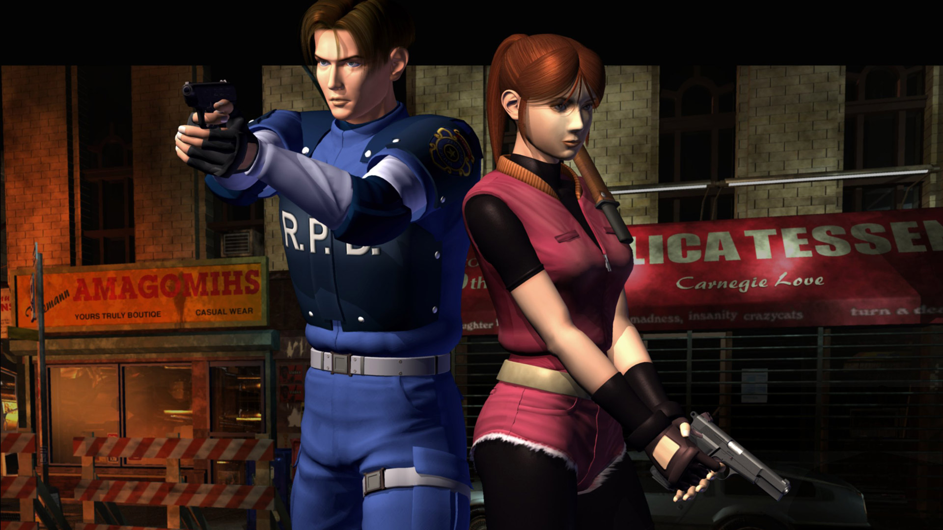 "Capcom Asking What Fans Want with a ""RE2"" Remake - If It's Like"