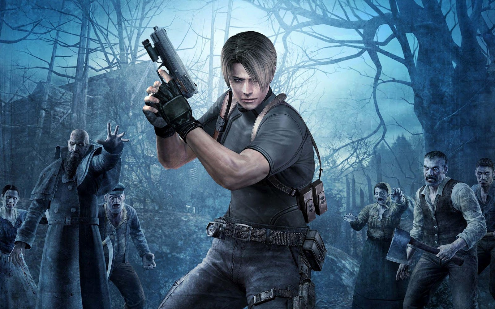 """Resident Evil 4, 5, & 6"" Coming to PS4/Xbox One - Starting, Oddly Enough, with"