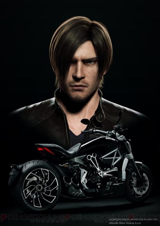 "Movie ""Resident Evil: Vendetta"" Announced - It Has Leon and a Motorcycle"