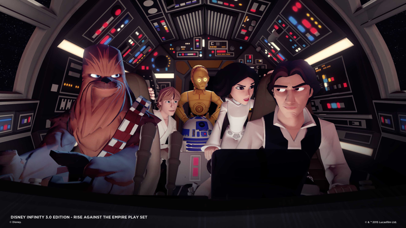 """Disney Infinity 3.0"" Lineup Reveal - Darth Vader, Mulan, Ultron, and More"