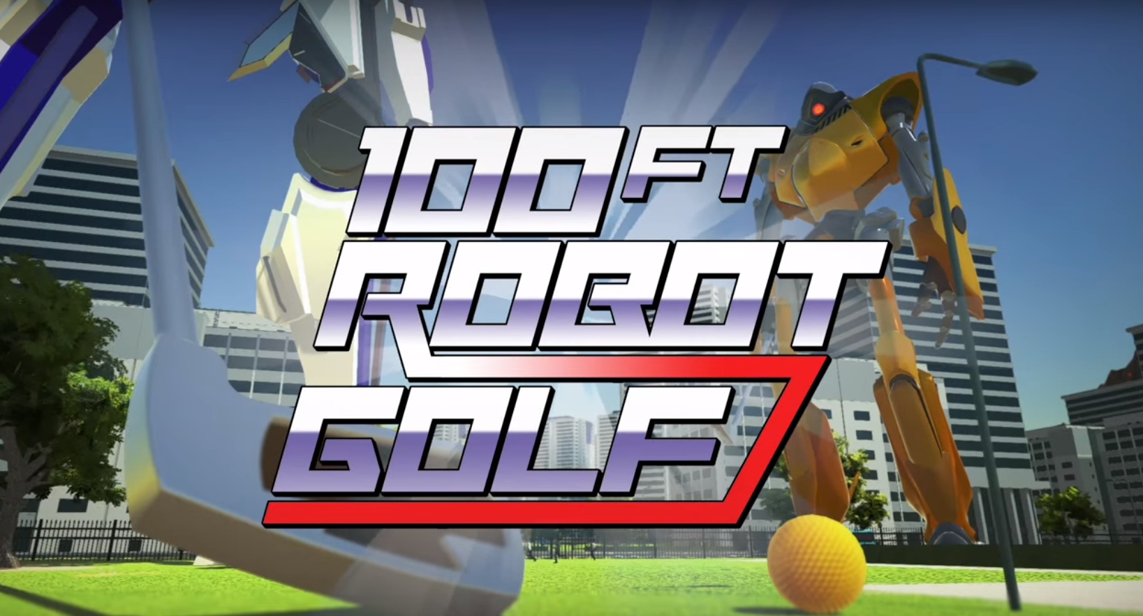 "REVEALED: ""100ft Robot Golf"" trailer - FORE!"