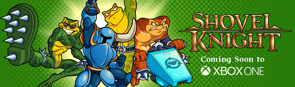 Shovel Knight Coming To Xbox One - ....also Battletoads.