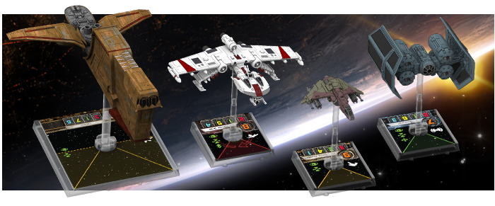 7th Wave of X-Wing Miniatures ships Announced -