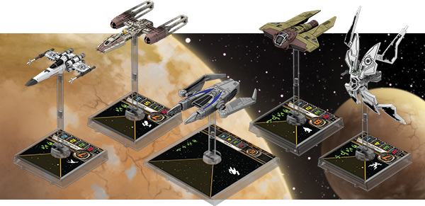 Star Wars X-Wing Scum and Villainy Faction Released - The stance on disintegration is being...revisited.