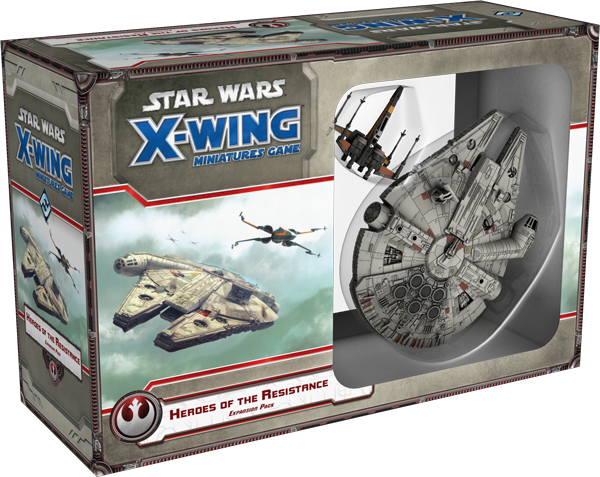"""Star Wars: X-Wing: Heroes of the Resistance"" Receives Updates - Fantasty Flight Games Introduces"