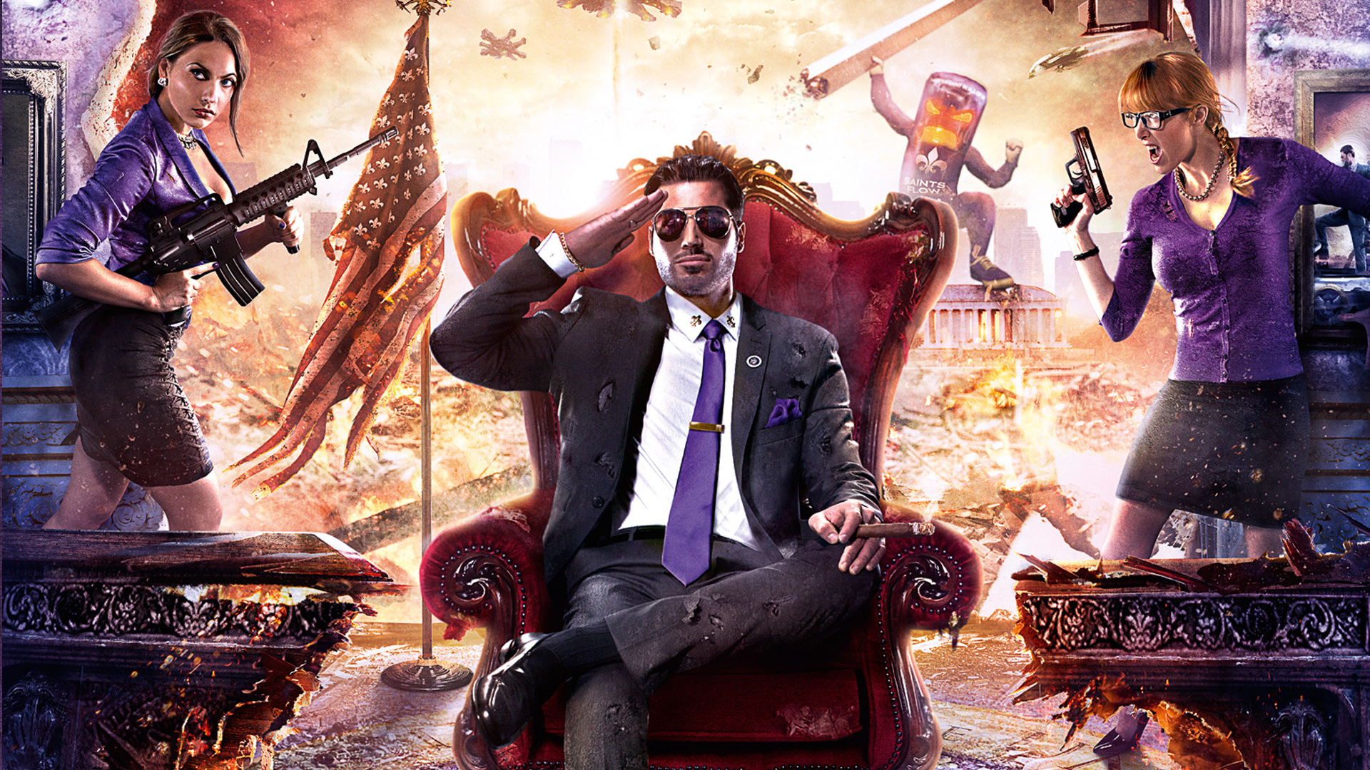 """Saints Row IV"" Available Now on Xbox One's Backwards Compatibility - With Still More to Come"