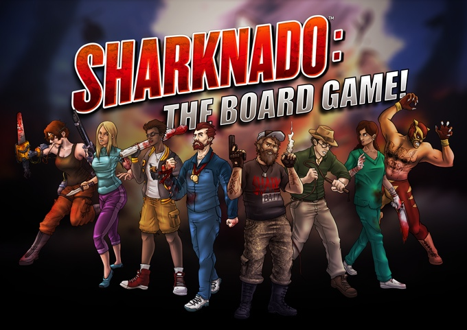 """Sharknado: The Board Game"" Is Coming! - Currently on Kickstarter"
