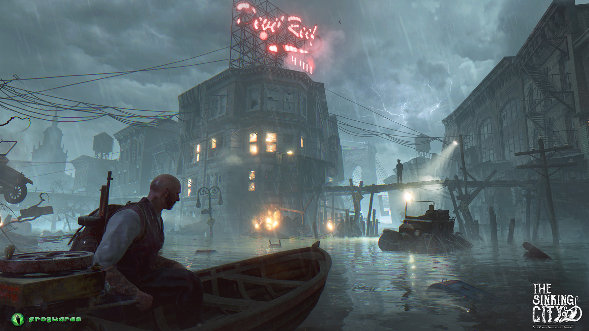 "Frogwares Studio Announces ""The Sinking City"" - Open-world game in a Lovecraftian setting"