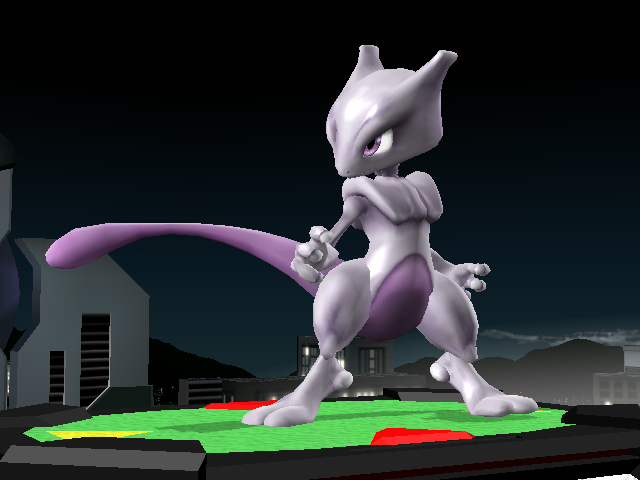 "Mewtwo for ""Super Smash Bros."" Coming Soon"