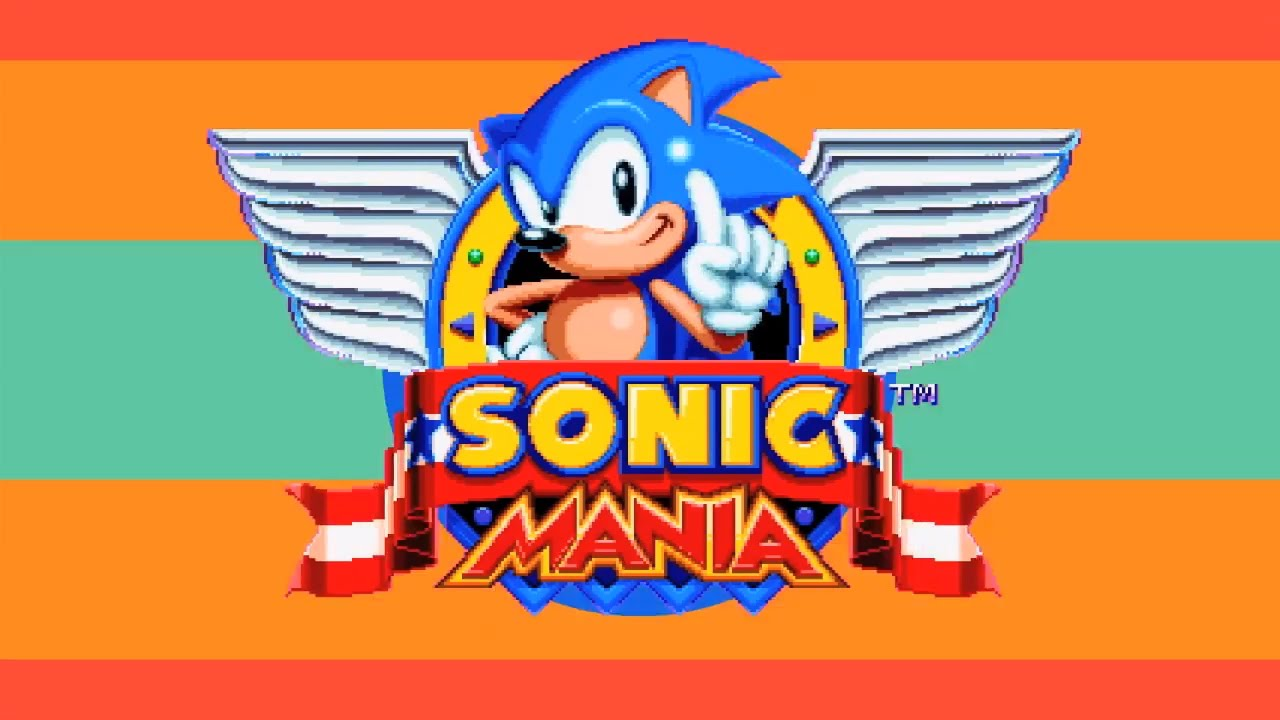 "Sega Announces ""Sonic Mania"" - Think"