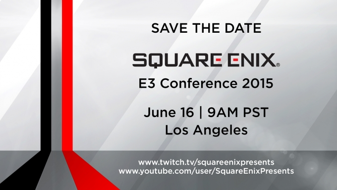 Square Enix Hosting E3 Conference for 2015 -