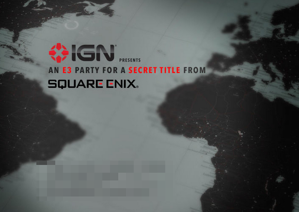Square Enix to Reveal Secret Title at E3 - What Could It Possibly Be?