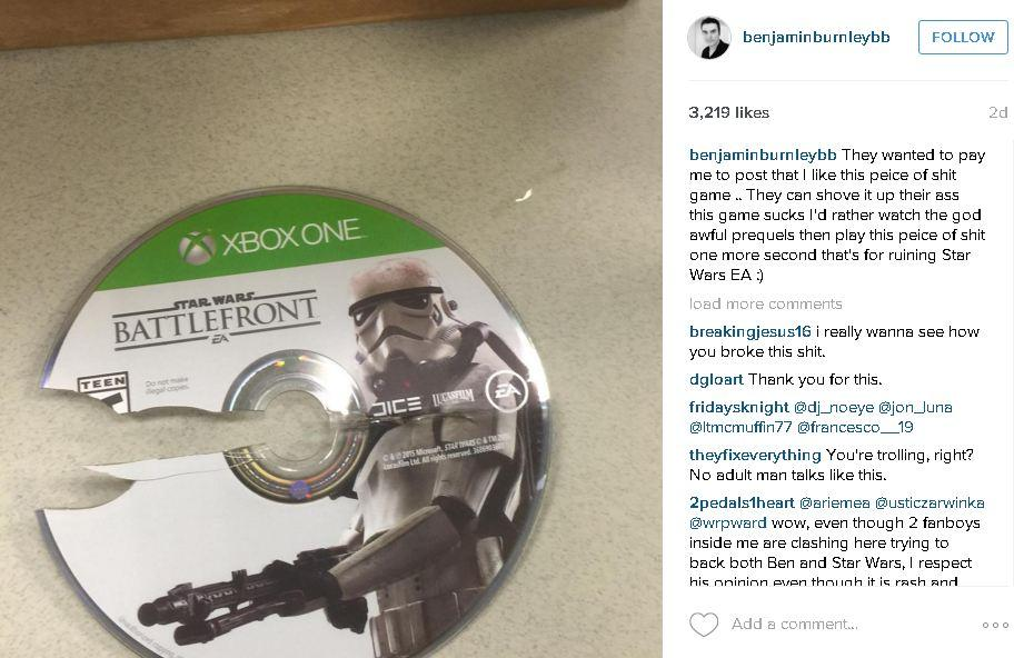 "Marketing Wanted Breaking Benjamin's Singer to Promote ""Star Wars Battlefront"" - He Says"