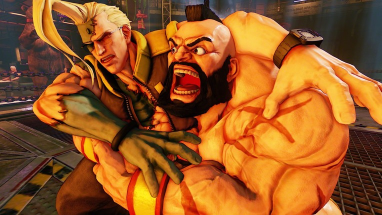 "Zangief Confirmed for ""Street Fighter V"""