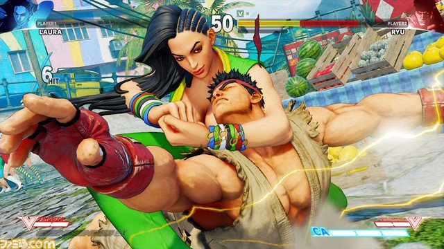 """Street Fighter V"" New Character Accidentally Leaked"