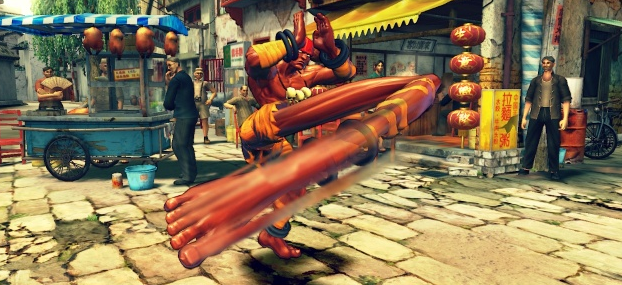 "Dhalisim Returns in ""Street Fighter V"""