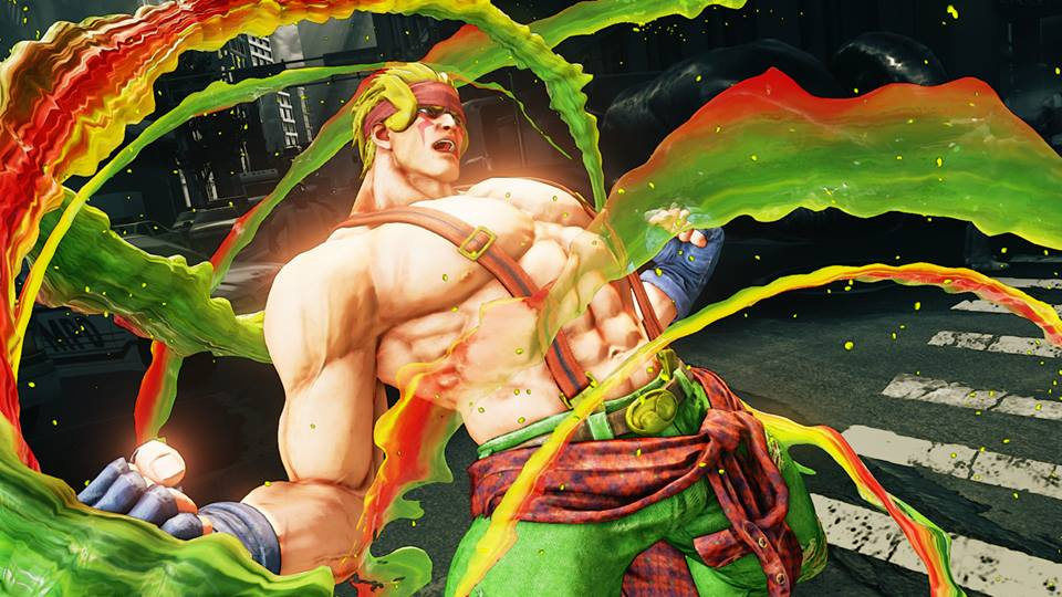"New Details for Alex in ""Street Fighter V"" Revealed"