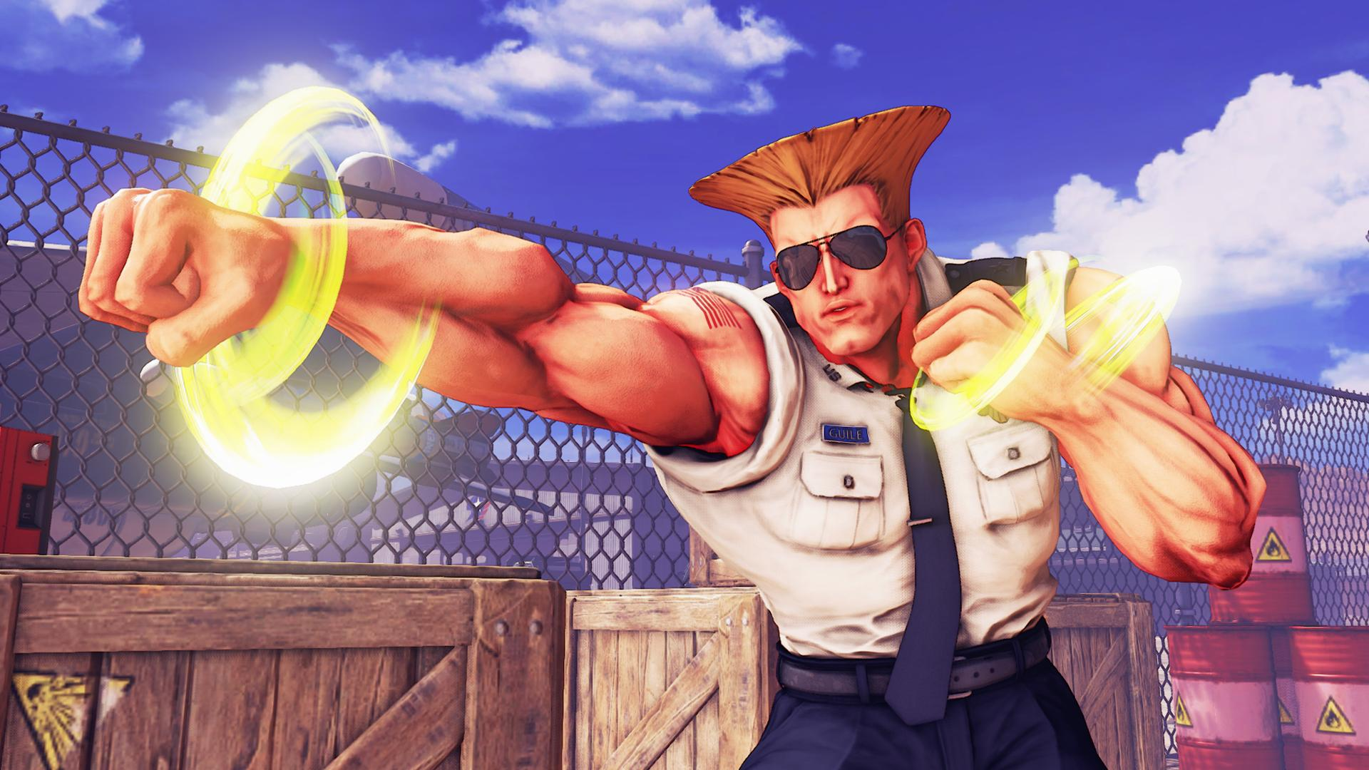 "Guile Will Be Added to ""Street Fighter V"" In April"