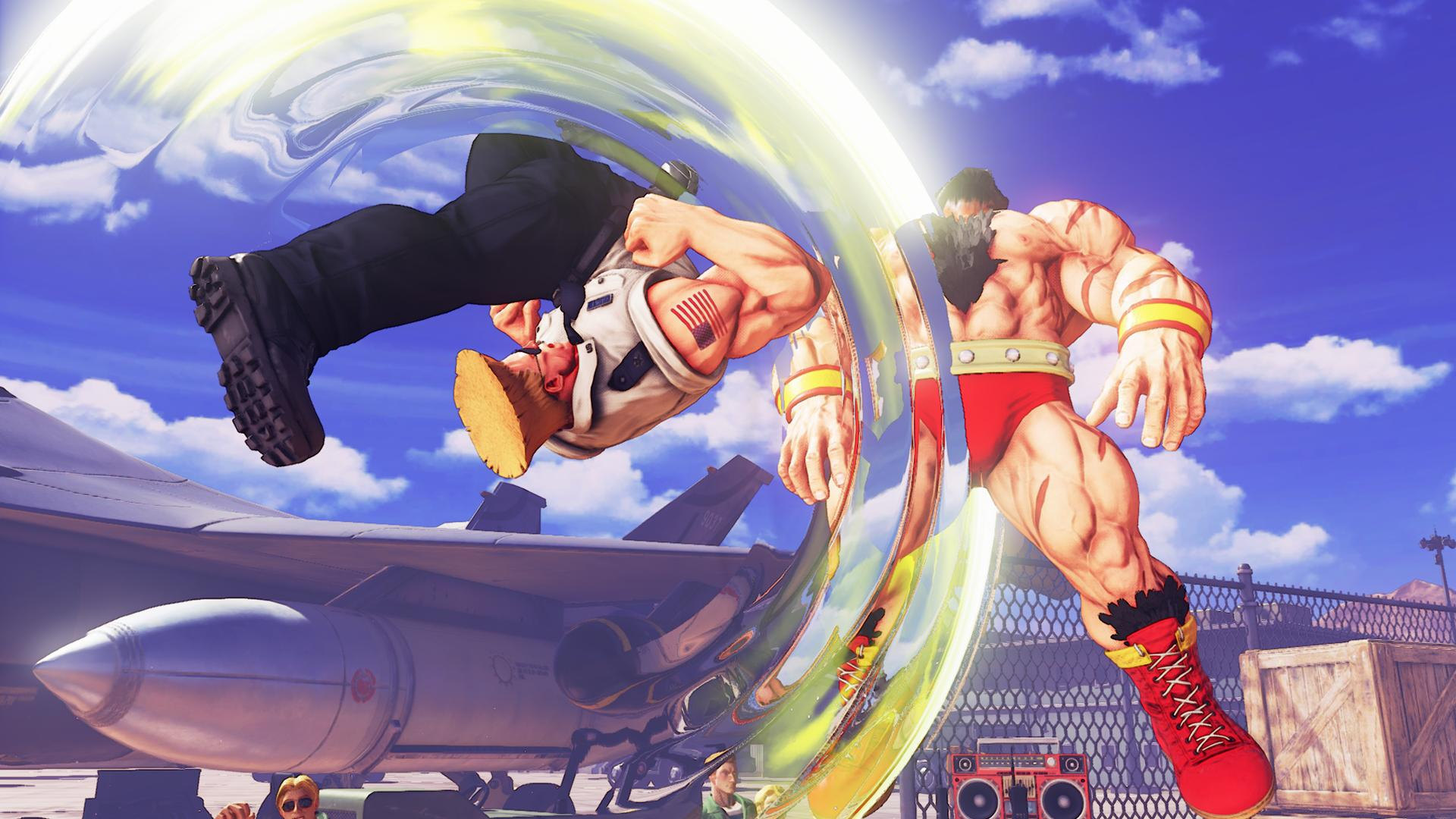 """Street Fighter V's"" Guile Release Date Revealed - Sonic Boom on April 28"