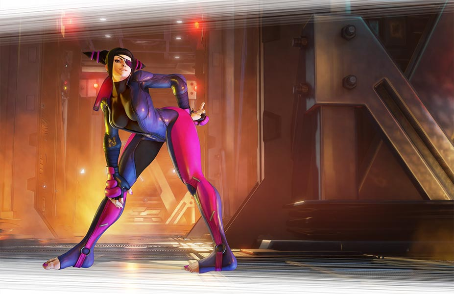 "Juri Coming to ""Street Fighter V"" By End of July"