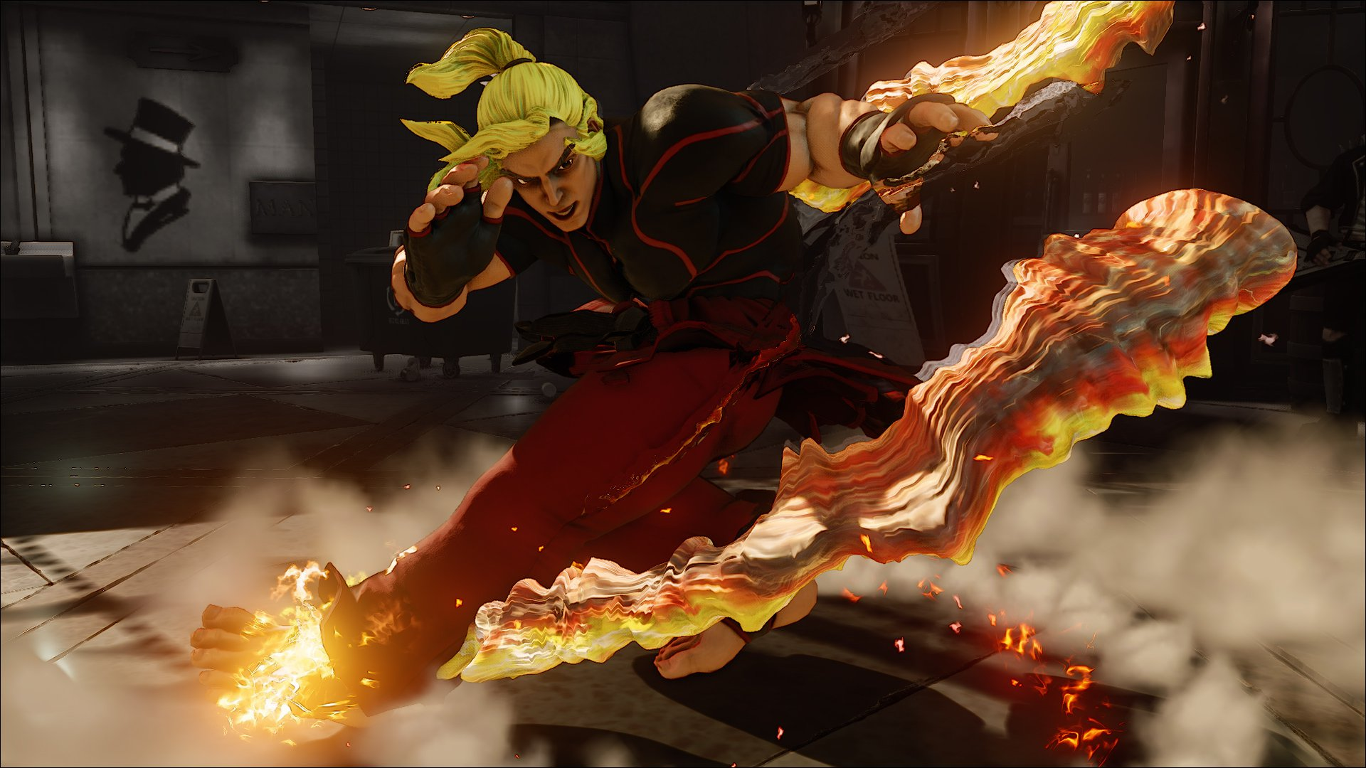 "Ken Revealed for ""Street Fighter V"""
