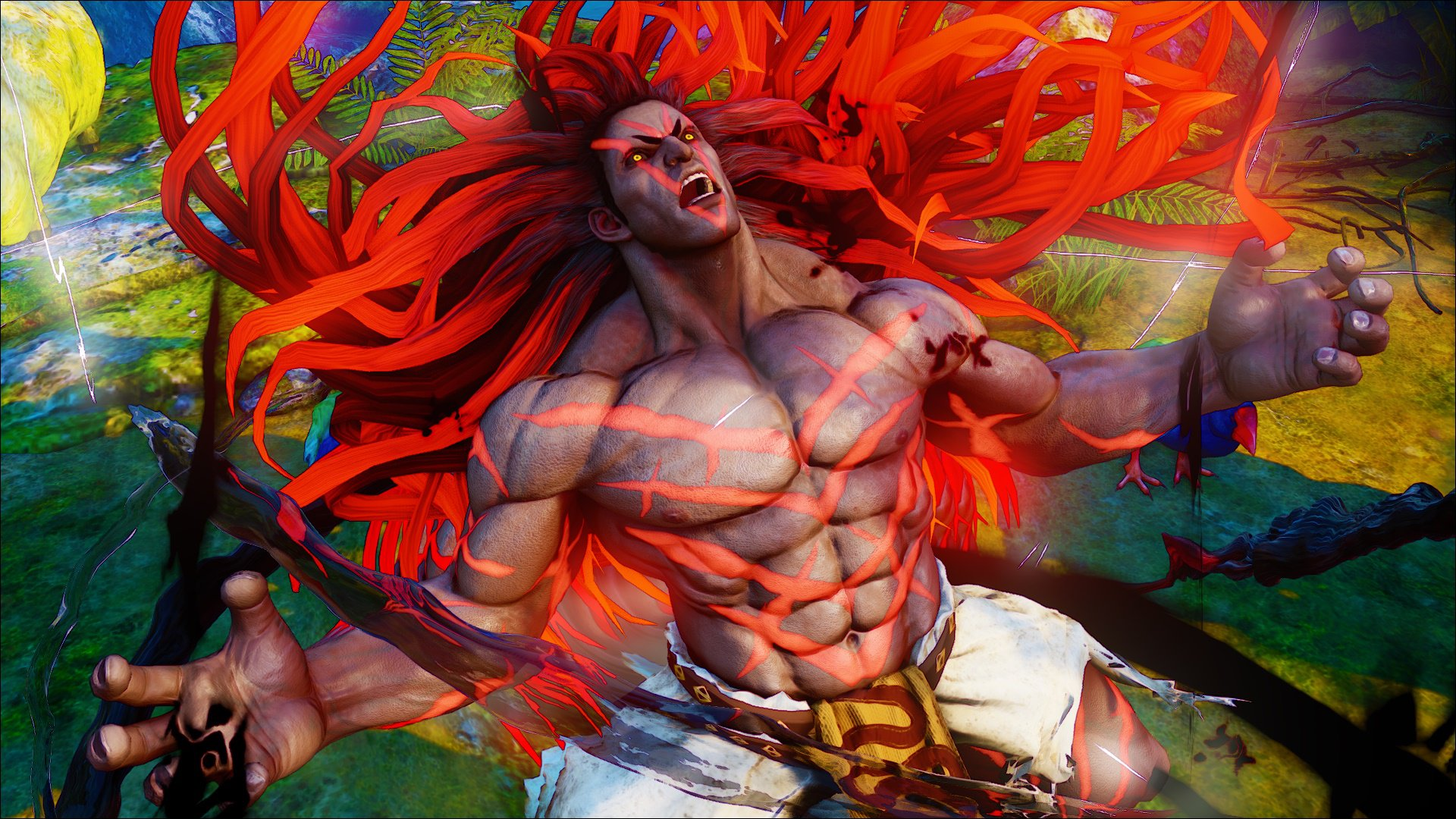 """Street Fighter V"" Reveals New Character: Necalli"