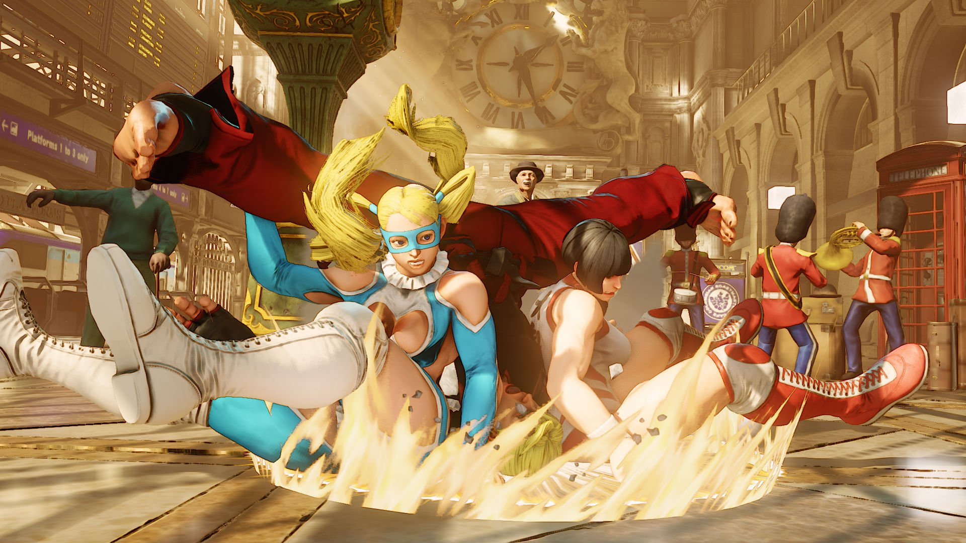 "R. Mika Revealed for ""Street Fighter V"""