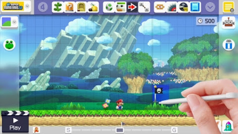 "Big ""Super Mario Maker"" Update Coming - Checkpoints Are the Big Reveal"