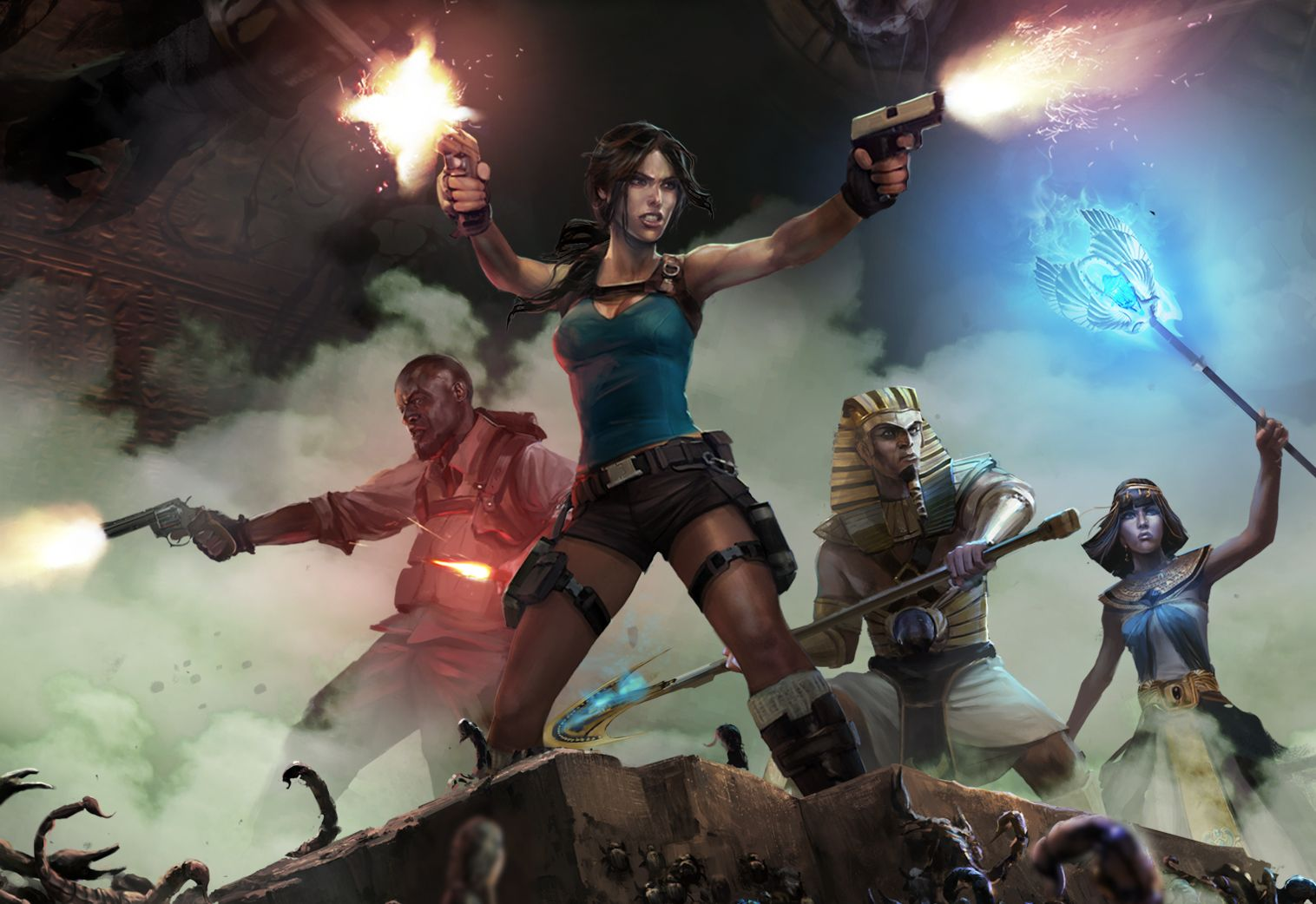 "Square Enix Trademarks ""Lara Croft: Relic Run"" - May Be a Mobile Runner"