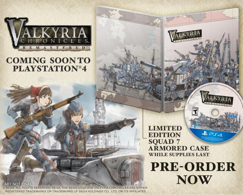 """Valkryia Chronicles"" Coming West in Spring - Also Priced at $29.99"